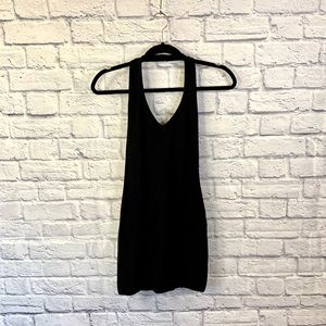 Forever 21 Black Halter Dress